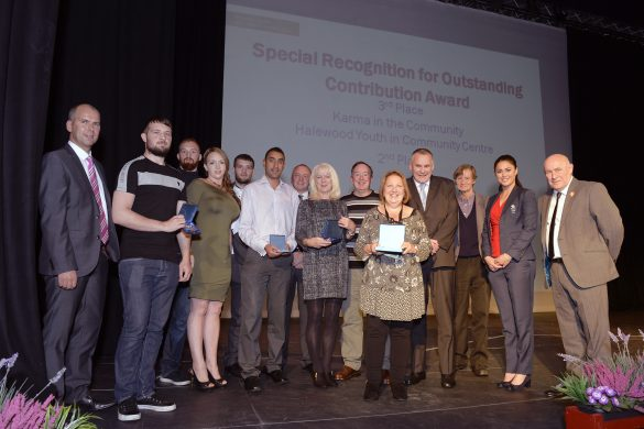 Outstanding Contribution Award winners and runners up