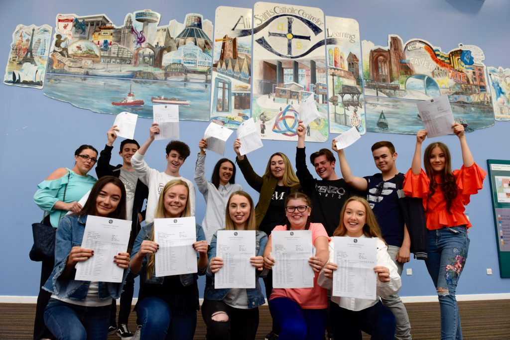 Pupils Celebrate As Gcse Passes Rise In Knowsley