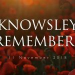 Knowsley Remembers graphic for Remembrance Day 2018