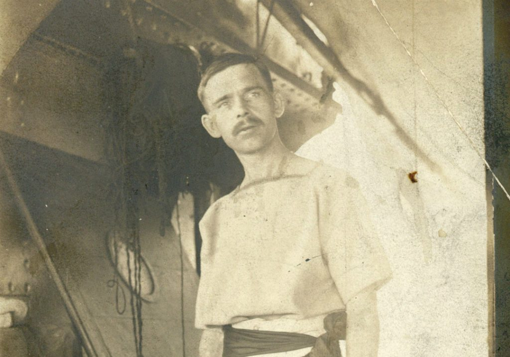 The diary of Jack Pulman, who served as a naval officer in World War 1 is to be preserved by Knowsley Archive
