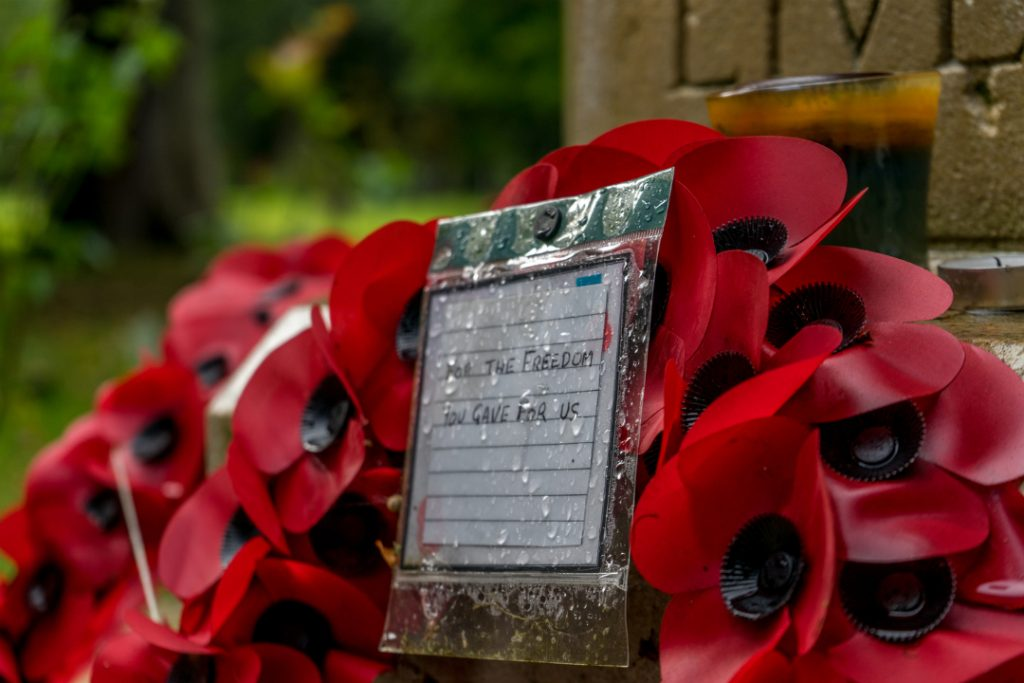 Remembrance Wreath of Poppies