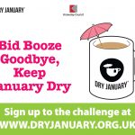 Dry January 2019 promotional poster