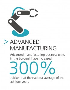 Advanced Manufacturing units are up 30% in Knowsley