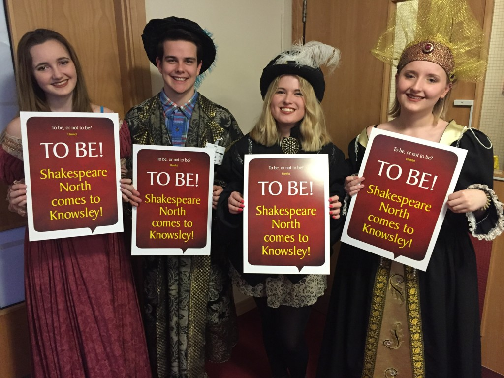 Supporters of the Shakespeare North Trust came to Planning Committee in costume