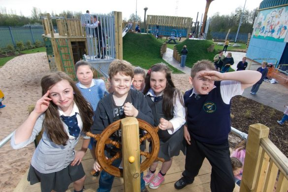 Flashback Friday: New playgrounds open in Knowsley