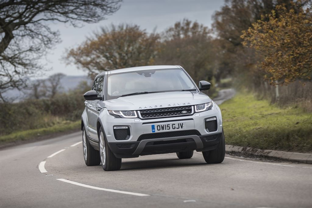 The Range Rover Evoque, built at Halewood