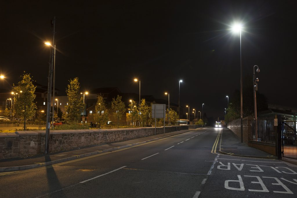Streetlighting in Knowsley
