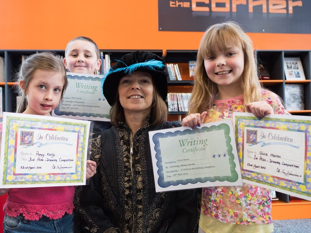 Winners of the Children's Detective Drawing Competition