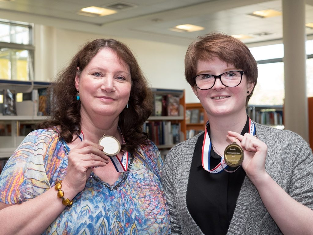 Debbie Lucas and Bryony Reid, Adult and Teenage first prize award winners