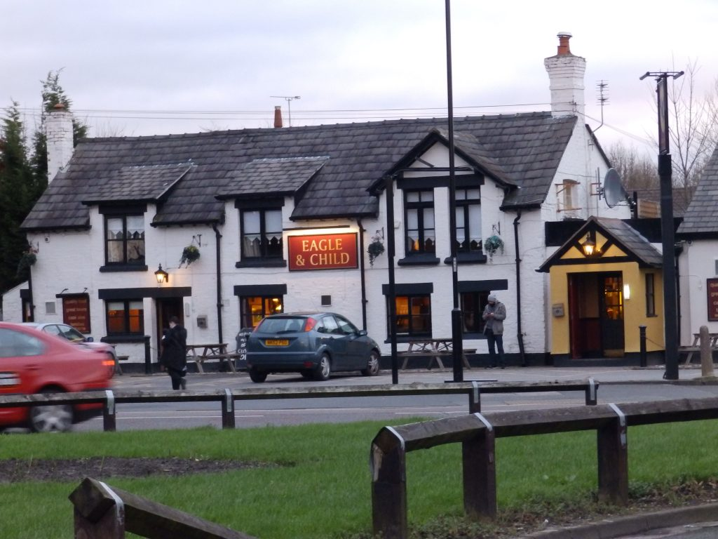 Eagle and Child pub Halewood