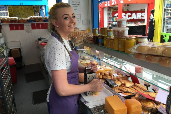 Top hygiene ratings for all food traders at Kirkby Market