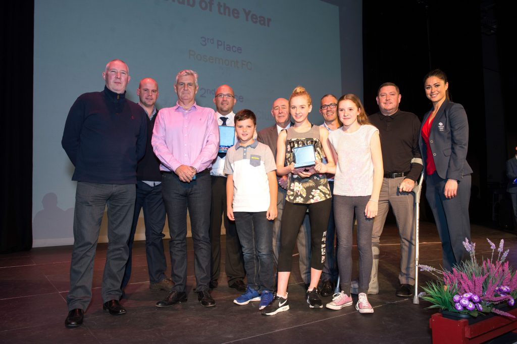 Winners of Club of the Year at Knowsley Sports and Cultural Awards