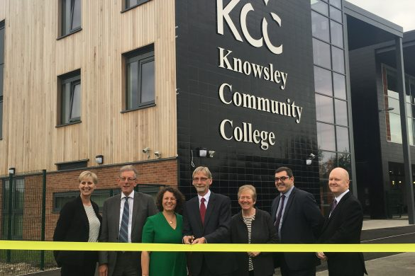 Knowsley College opens new £32m campus