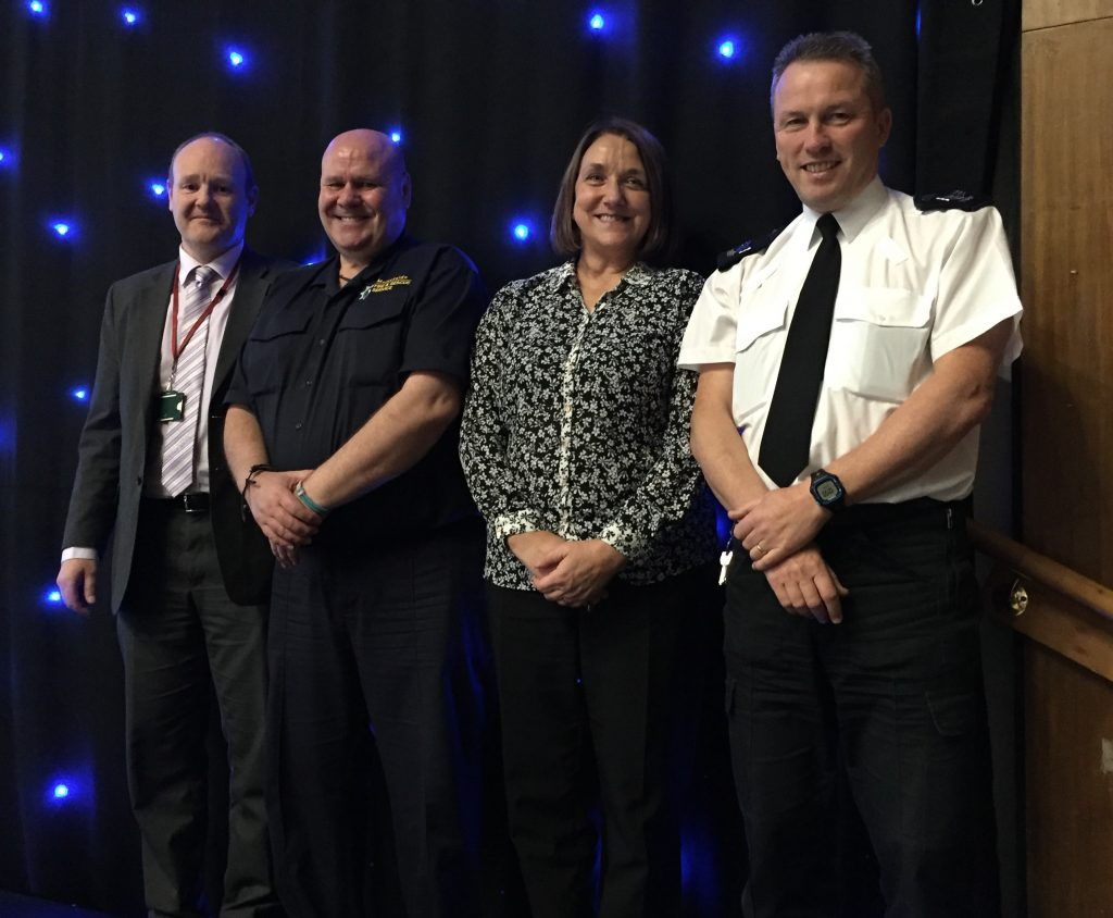 Today's speakers included: Jon Robinson, Knowsley Council, Vinny Taylor, Merseyside Fire and Rescue, Collette Atkinson, Arriva and Sgt Paul Mountford, Merseyside Police