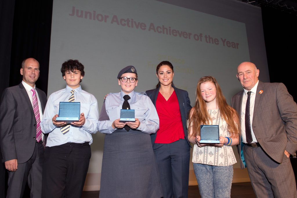 Junior Active Achiever of the Year 2016