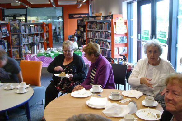 Coffee and cakes raise cash for cancer charity