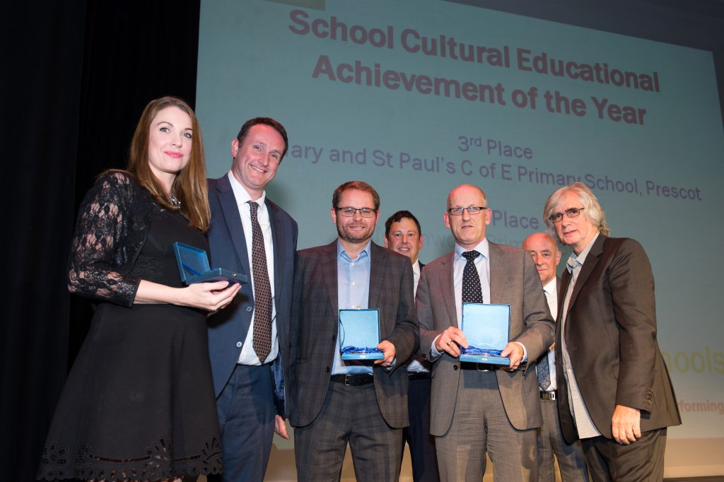Winners of the Schools Cultural Education Achievement of the Year