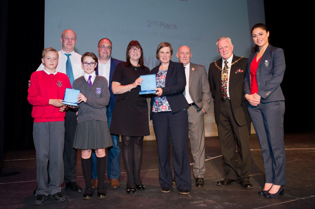 School Sports Team Achievement of the Year winners