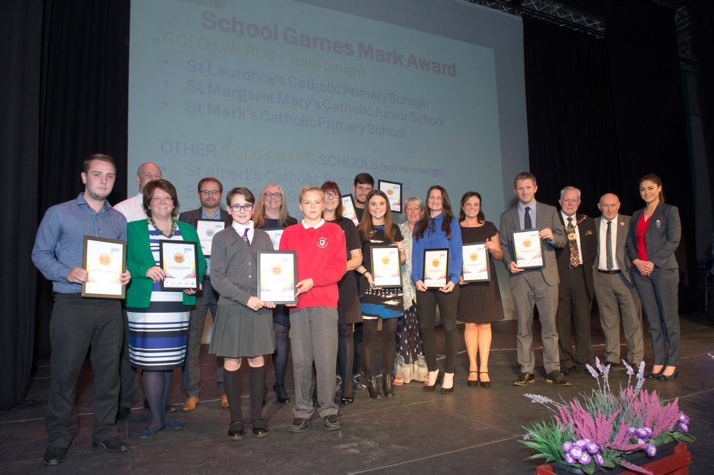 Several Knowsley schools picked up their School Games Mark Award