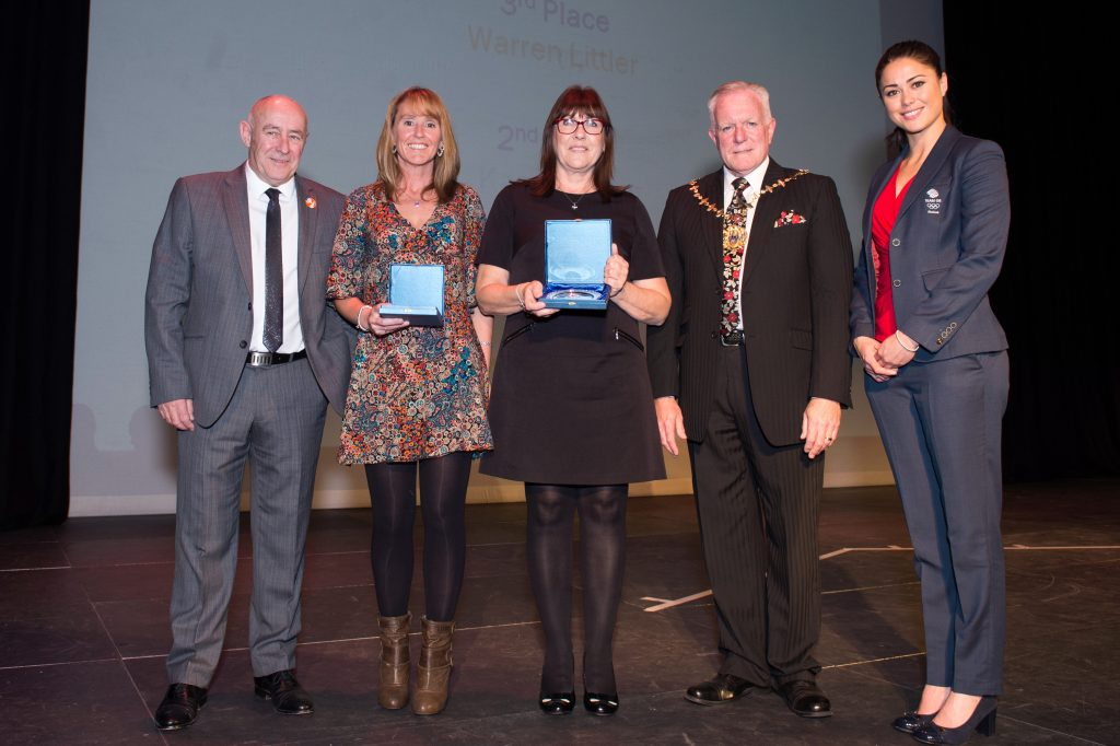 Winners of the Sport Volunteer of the Year award