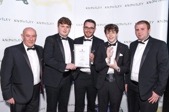 Winners at Knowsley Business and Regeneration Awards