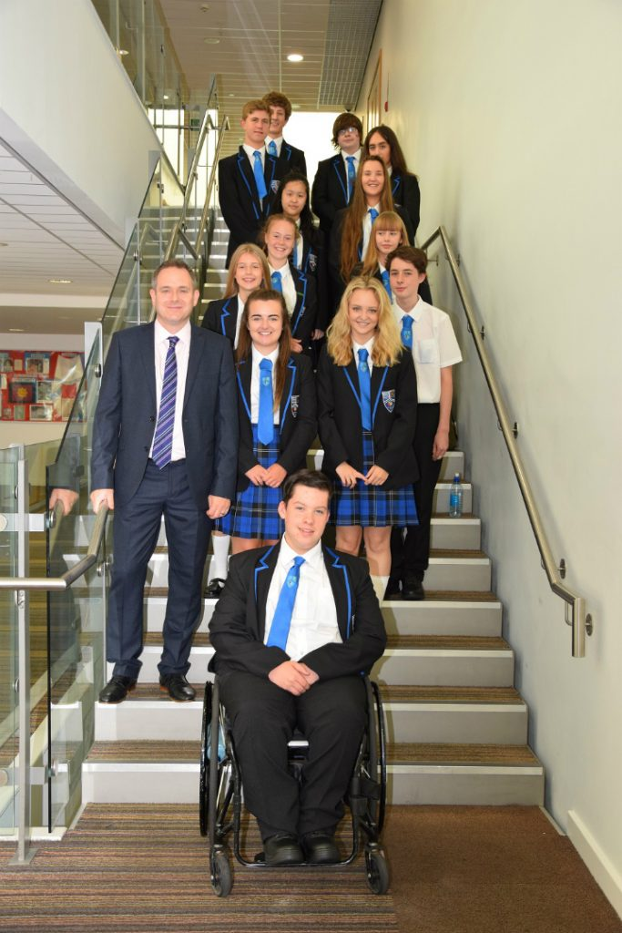 Halewood Academy celebrate Ofsted report