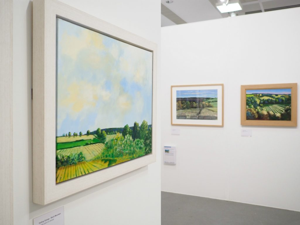 Willy Russell's paintings on display in Kirkby Gallery