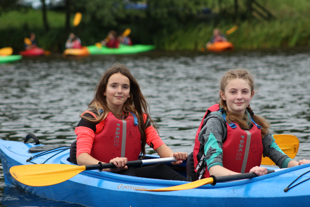 Knowsley Youth Mutual canoeing activity