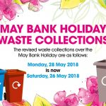 May Bank Holiday waste collection