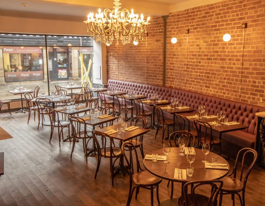 Inside Pinion, the new restaurant on Eccleston Street in Prescot