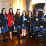 Students on the Future Female Leaders programme at Halewood Academy