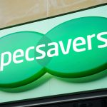 Specsavers sign above one of its stores