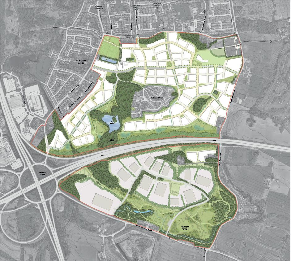 The Halsnead Garden Village Masterplan