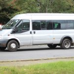 Bluebell Park school's minibus was a Silver Ford Minibus, similar to this one. It was stolen from IKEA Warrington on 11 January 2019.