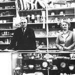 General store Huyton interior - owners Percy and Anastasia Brennand